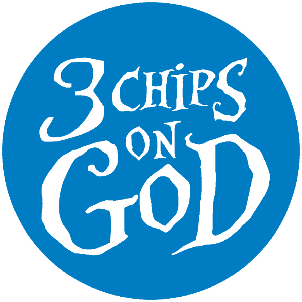 3 Chips On God Logo
